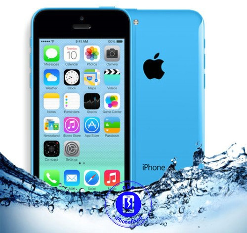 iphone-5c-waterschade-behandeling