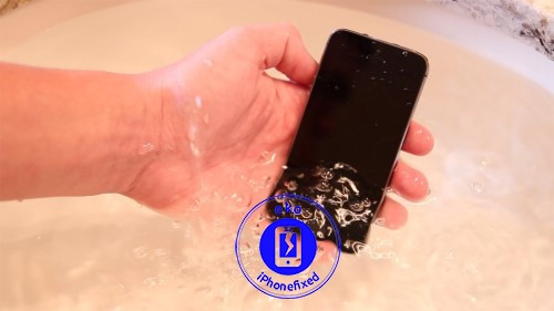 iphone-5s-waterschade-behandeling