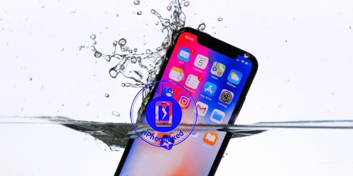iphone-x-waterschade-behandeling