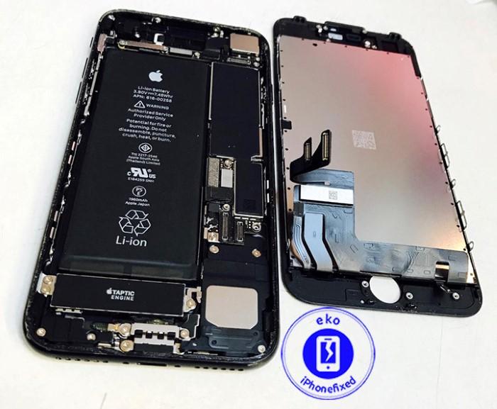 iPhone 7 reparartie scherm glas vervangen-8