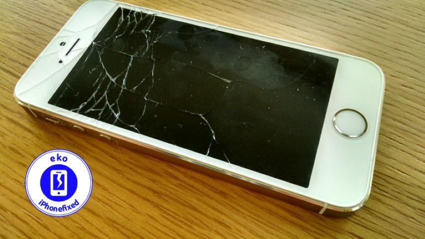 iPhone-5s-scherm-reparatie-glas-vervangen