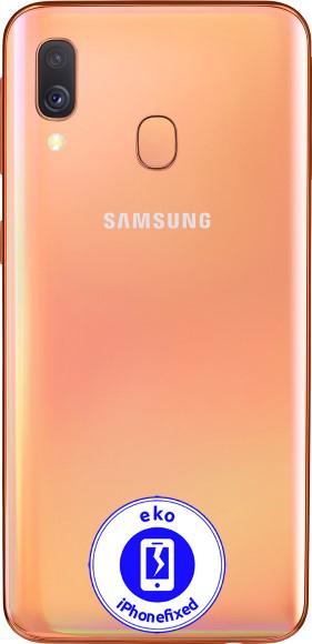 sm-a405f-samsung-galaxy-a40-reparatie-oranje