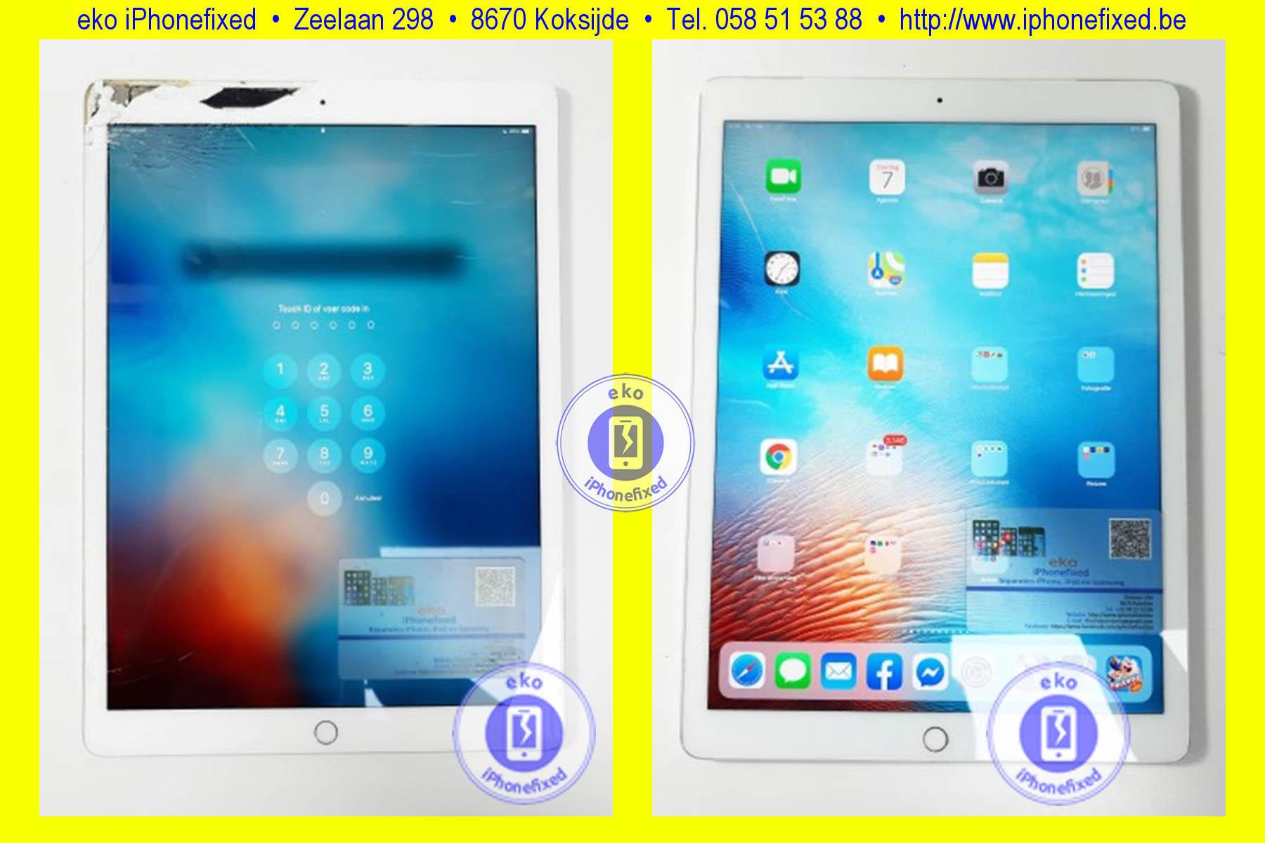 apple-ipad-pro-12-9-inch-scherm-reparatie-glas-vervangen-koksijde