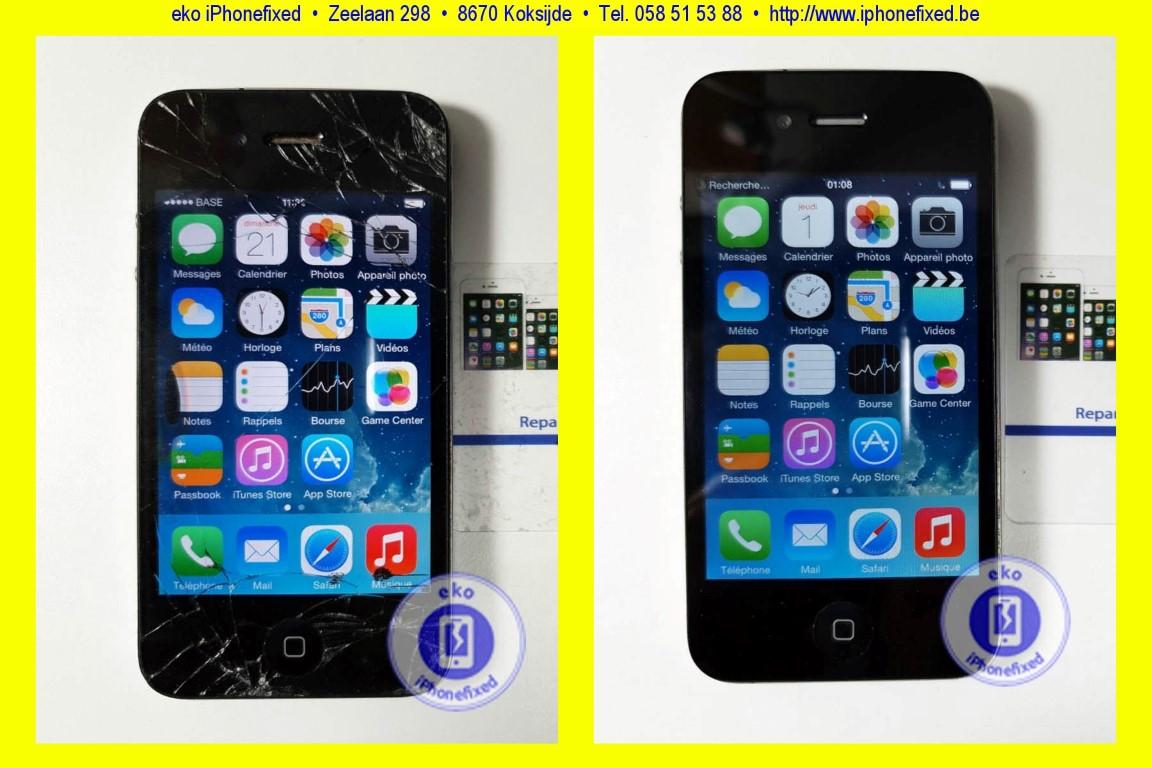 apple-iphone-4-scherm-reparatie-glas-vervangen-koksijde-1