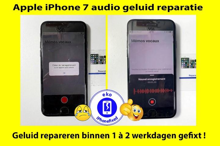 iPhone 7-audio-geluid-reparatie-koksijde-binnen 1 werkdag-2