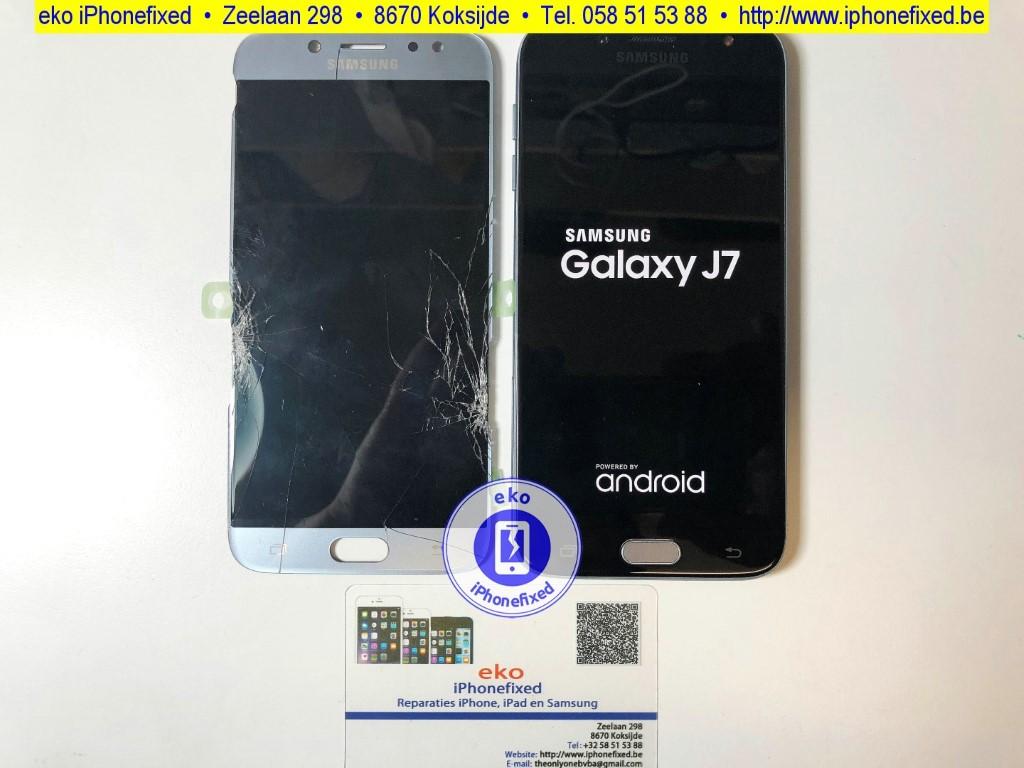 samsung-galaxy-j7-j730f-scherm-reparatie-glas-vervangen
