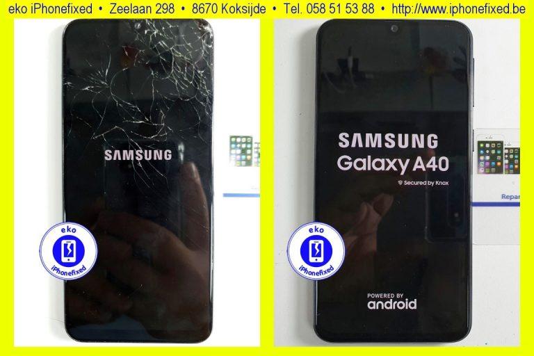 samsung-galaxy-a40-scherm-reparatie-glas-vervangen-koksijde-bad-15