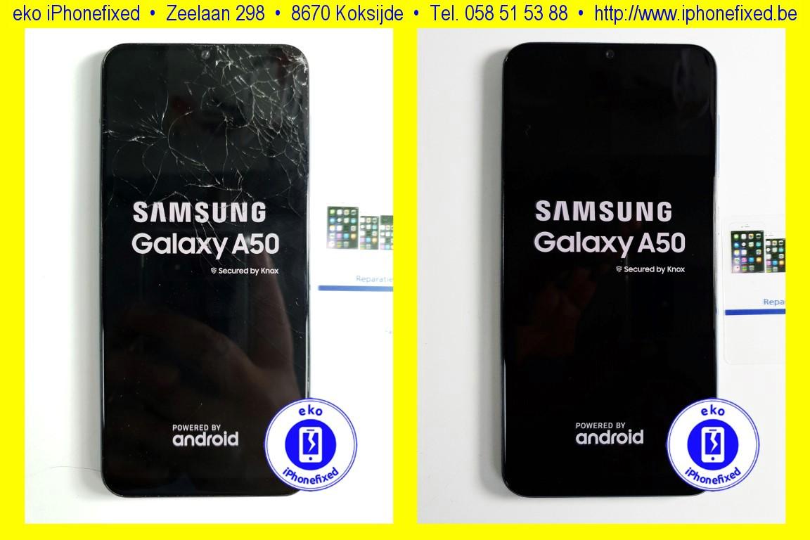 samsung-galaxy-a50-scherm-reparatie-glas-vervangen-koksijde-bad-1