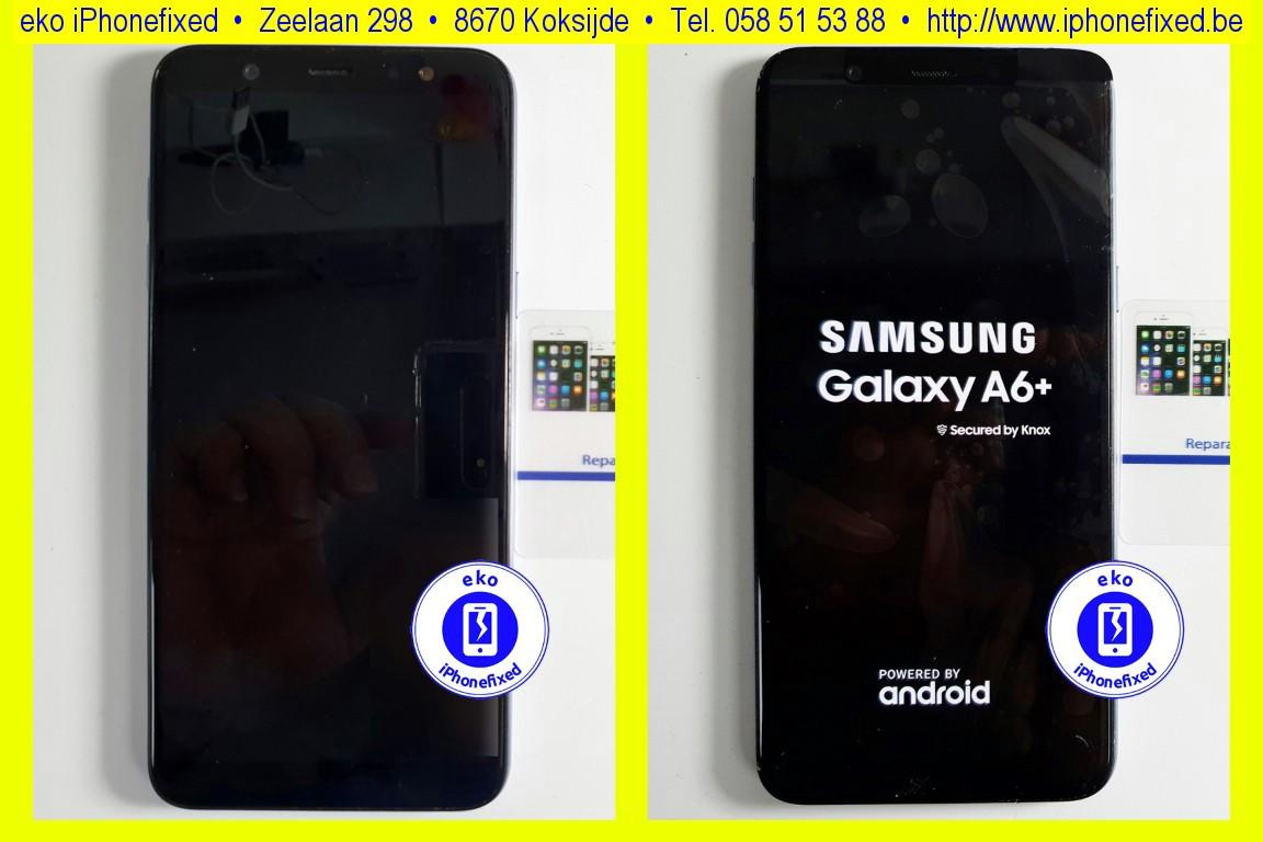 samsung-galaxy-a6-plus-2018-scherm-reparatie-glas-vervangen-koksijde-bad-12