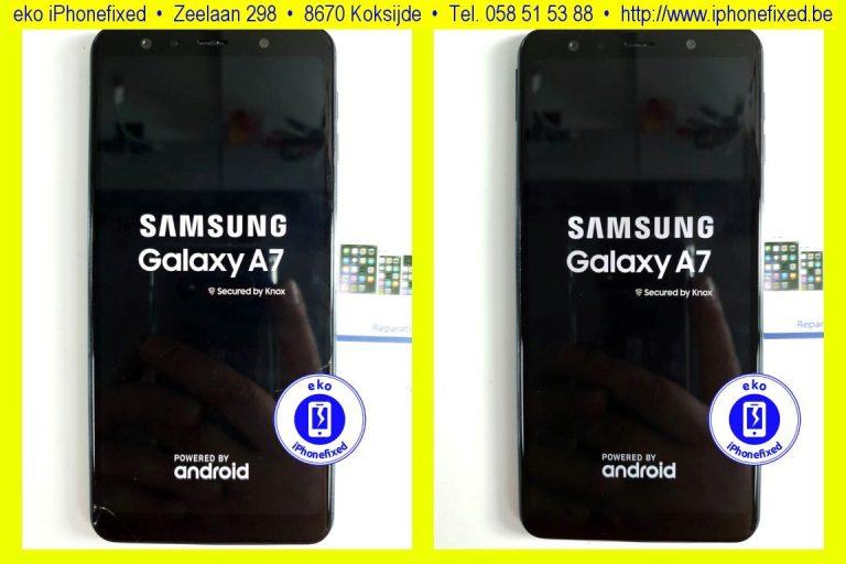 samsung-galaxy-a7-2018-scherm-reparatie-glas-vervangen-koksijde-bad-16