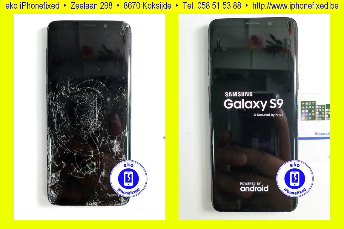 samsung-galaxy-s9-scherm-glas-vervangen-zonder-afspraak