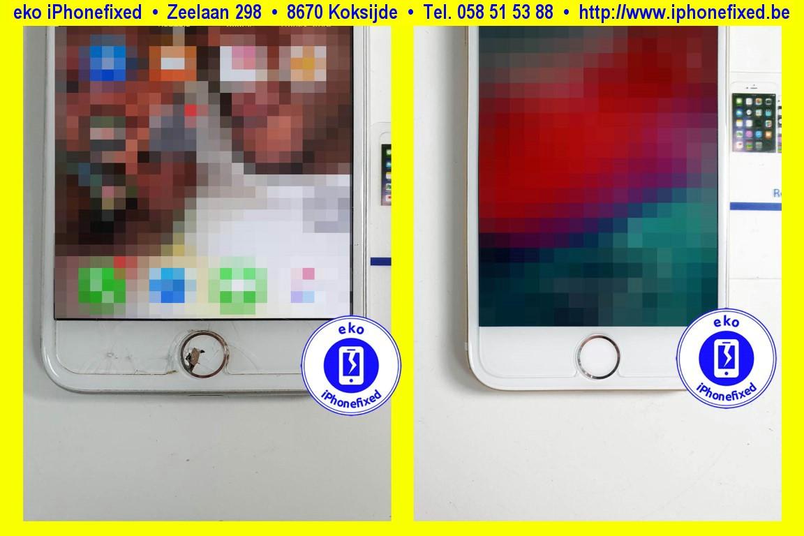 Apple-iPhone-7-home-knop-vervangen-reparatie-te-koksijde-1