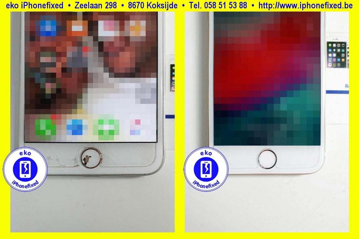 Apple-iPhone-7-plus-home-knop-vervangen-reparatie-te-koksijde-1