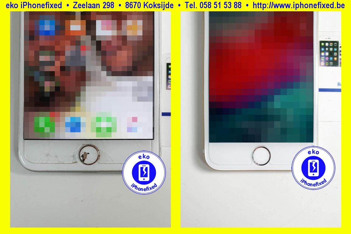 Apple-iPhone-8-home-knop-vervangen-reparatie-te-koksijde-1