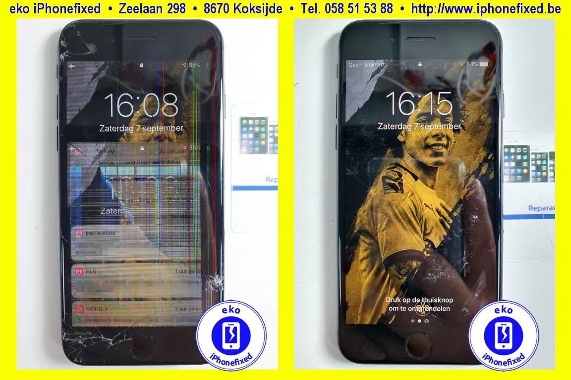 Apple-iPhone-8-zwart-scherm-glas-vervangen-1