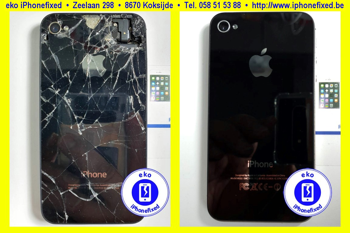 apple-iPhone-4-achterkant-glas-vervangen-te koksijde-1