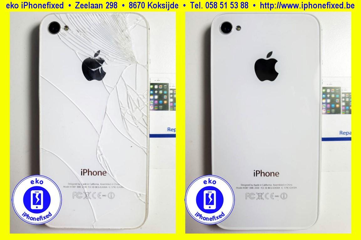 apple-iPhone-4s-achterkant-glas-vervangen-te koksijde-1