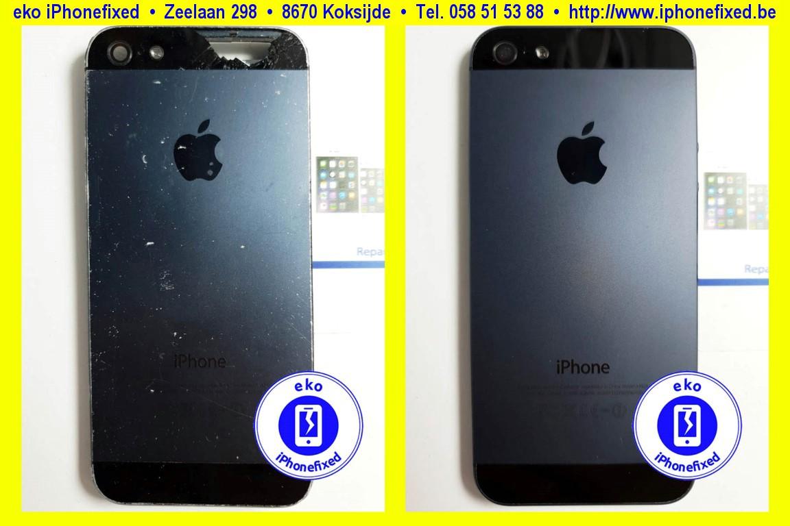 apple-iPhone-5-achterkant-behuizing-vervangen-te koksijde-1