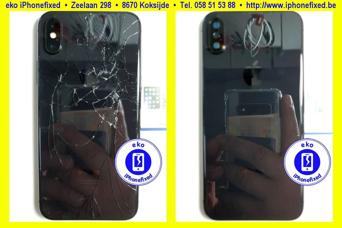 apple-iPhone-x-achterkant-behuizing-met glas-vervangen-te koksijde-1