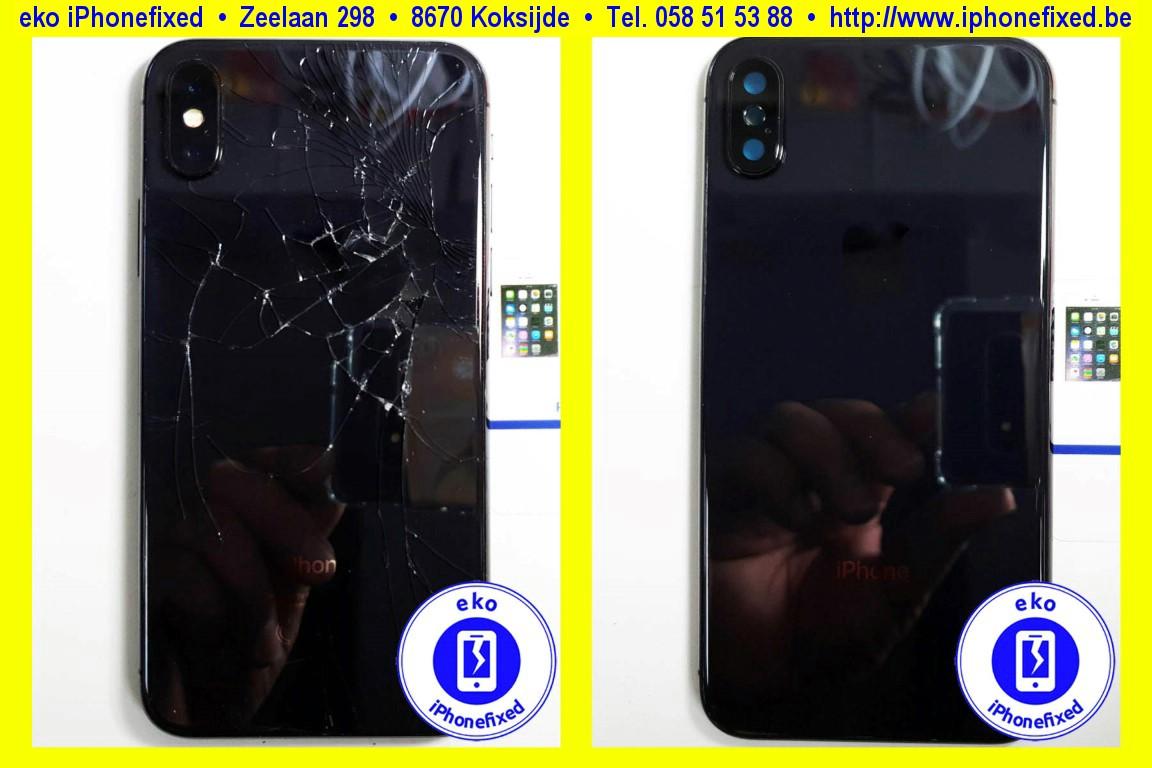 apple-iPhone-xs-achterkant-behuizing-met glas-vervangen-te koksijde-1