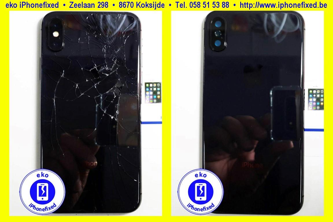 apple-iPhone-xs-max-achterkant-behuizing-met glas-vervangen-te koksijde-1