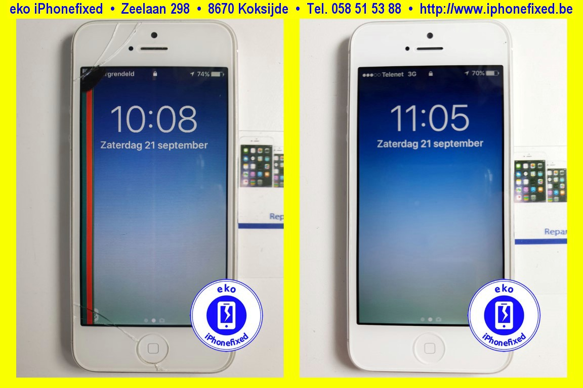 apple-iphone-5-wit-reparatie-scherm-glas-vervangen-1