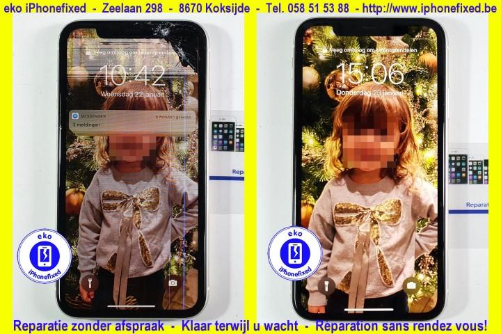 iPhone 11 scherm reparatie koskijde-bad_3