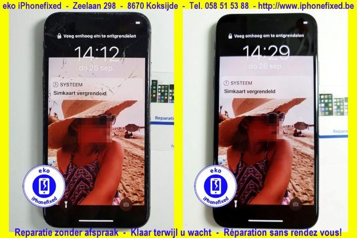 iPhone x scherm reparatie koskijde-bad_1