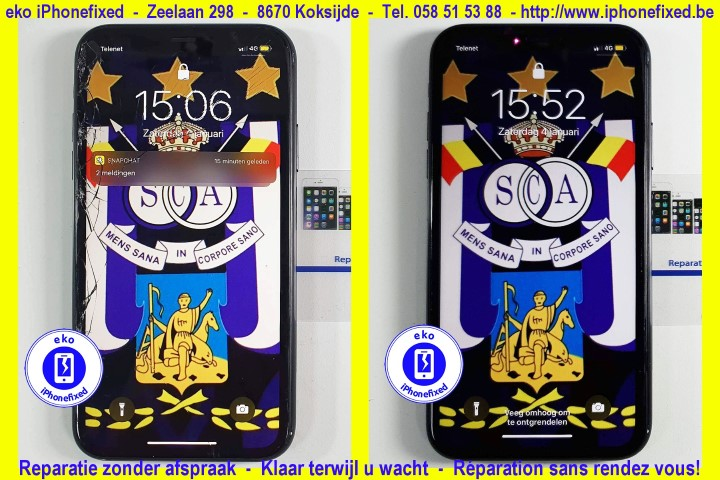 iPhone x schermreparatie koskijde-bad_3