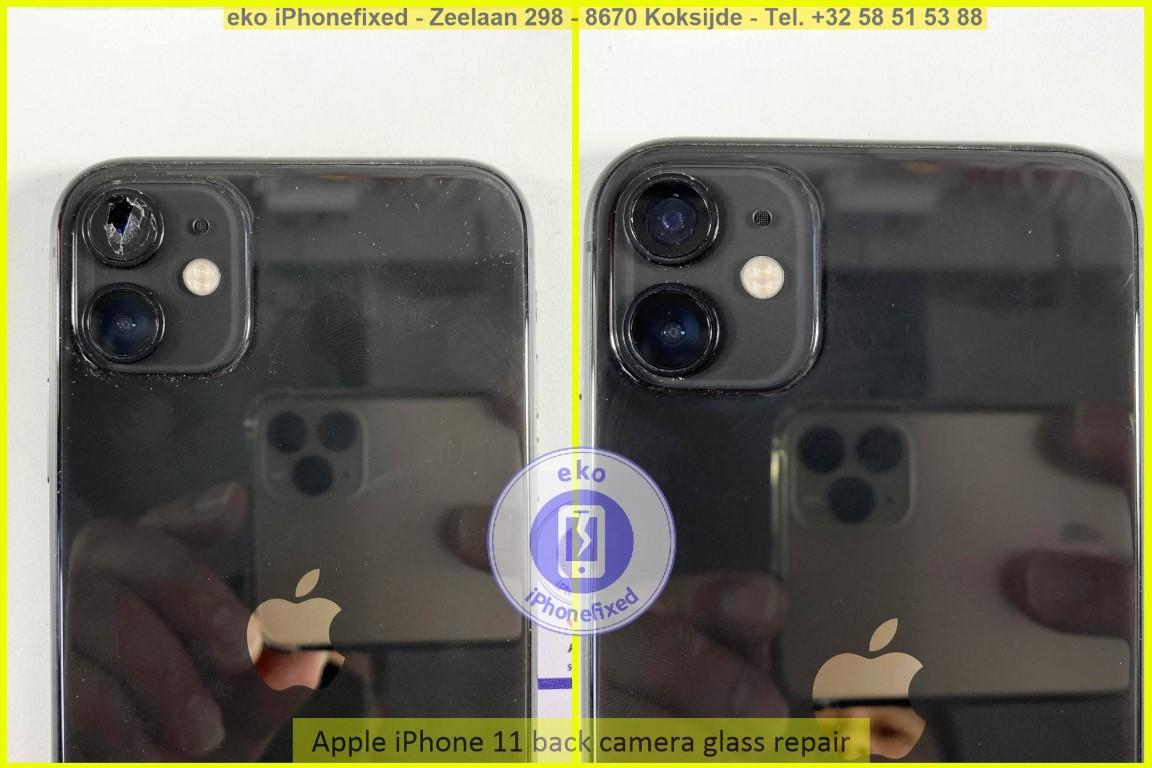 Apple iPhone 11 achterkant camera glas reparatie eko iPhonefixed_1