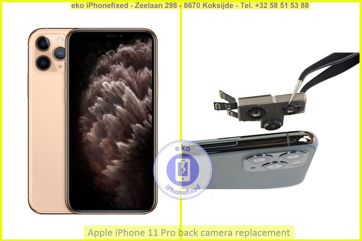 Apple iPhone 11 pro achterkant camera vervanging eko iPhonefixed_1