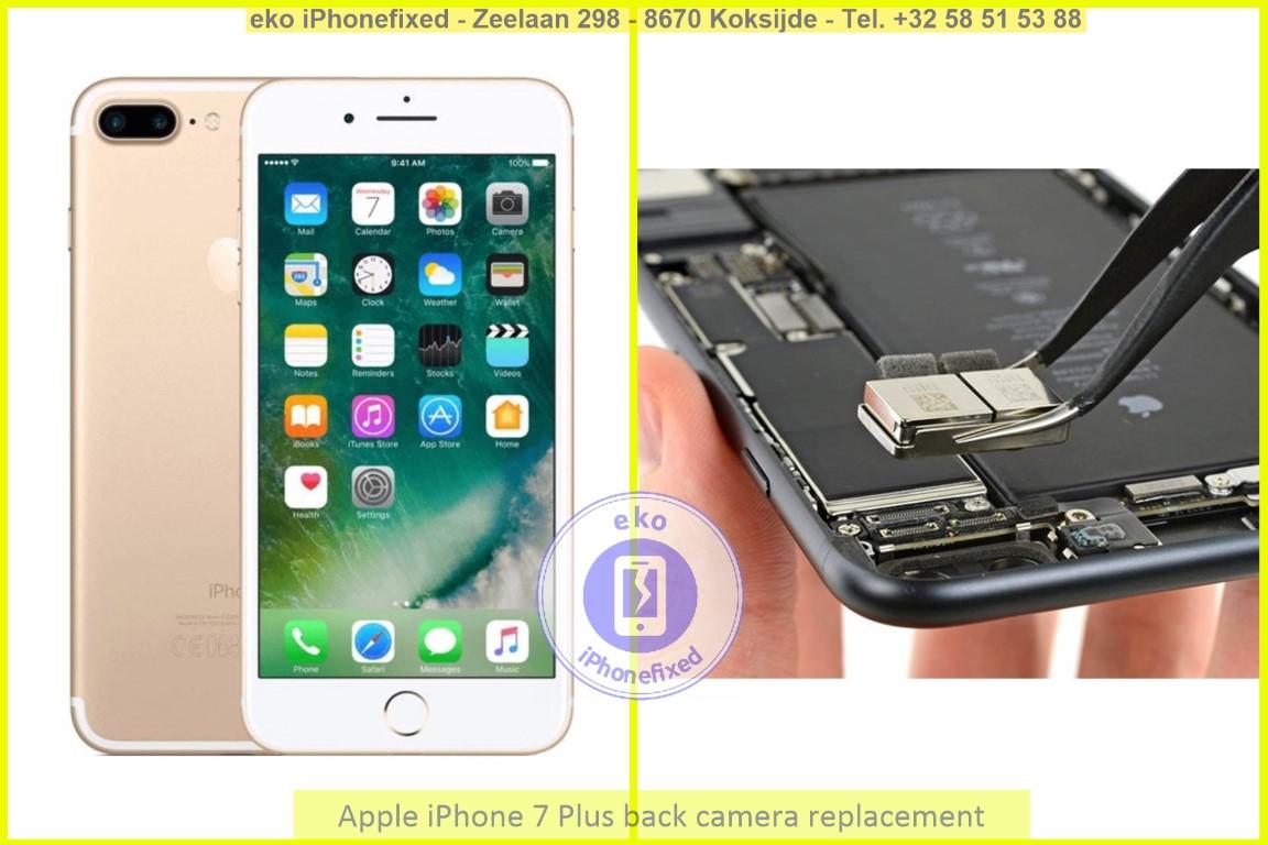 Apple iPhone 7 plus achterkant camera vervanging eko iPhonefixed_1