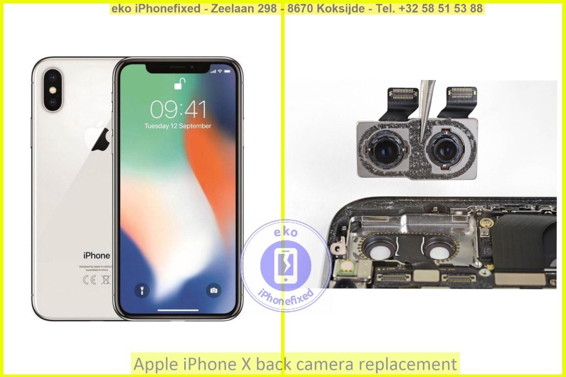 Apple iPhone x achterkant camera vervanging eko iPhonefixed_1