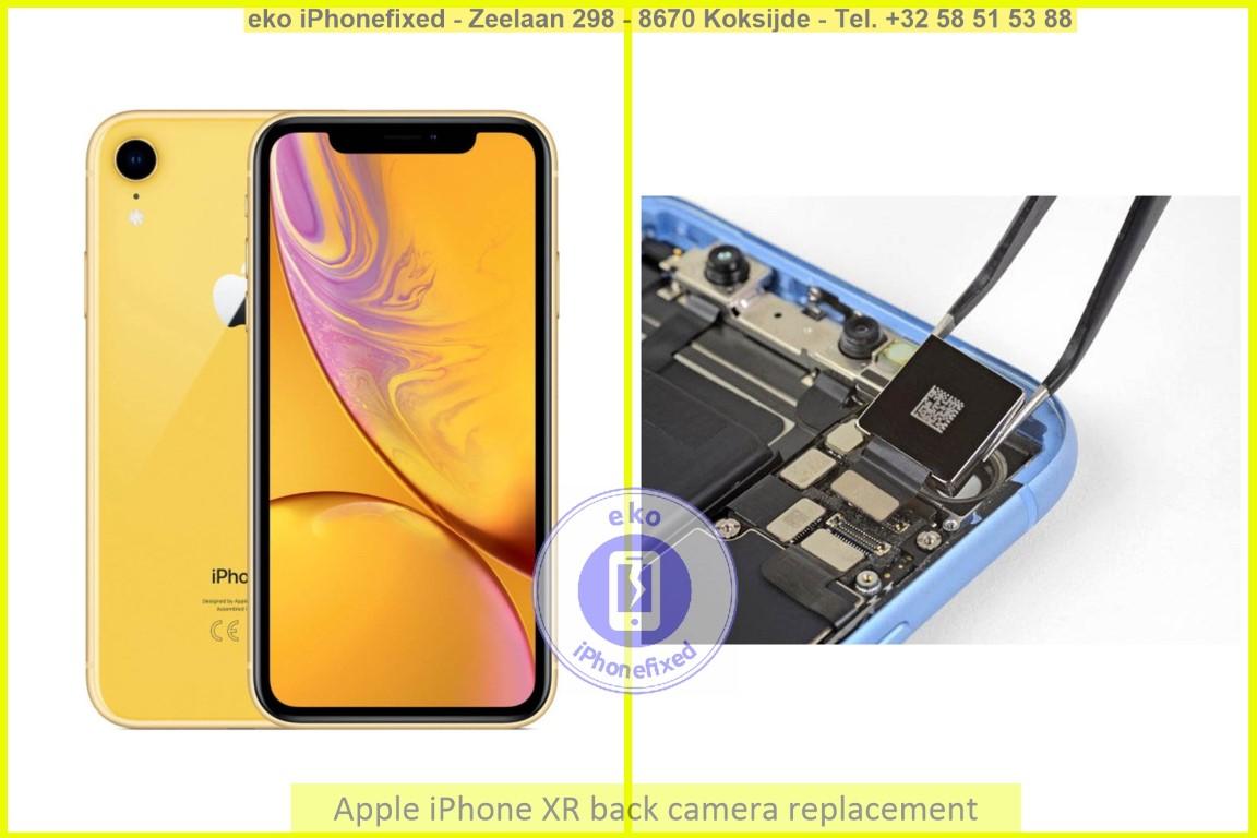 Apple iPhone xr achterkant camera vervanging eko iPhonefixed_1