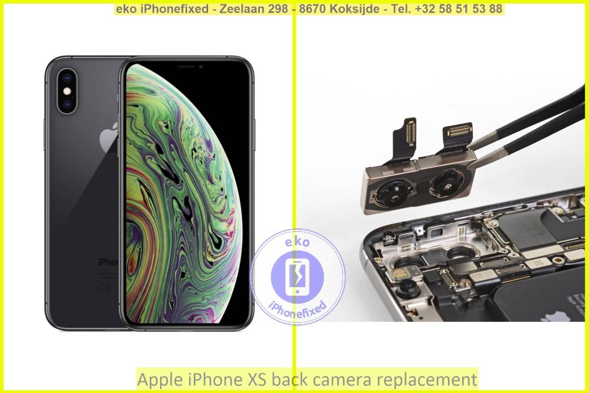 Apple iPhone xs achterkant camera vervanging eko eko iPhonefixed_1