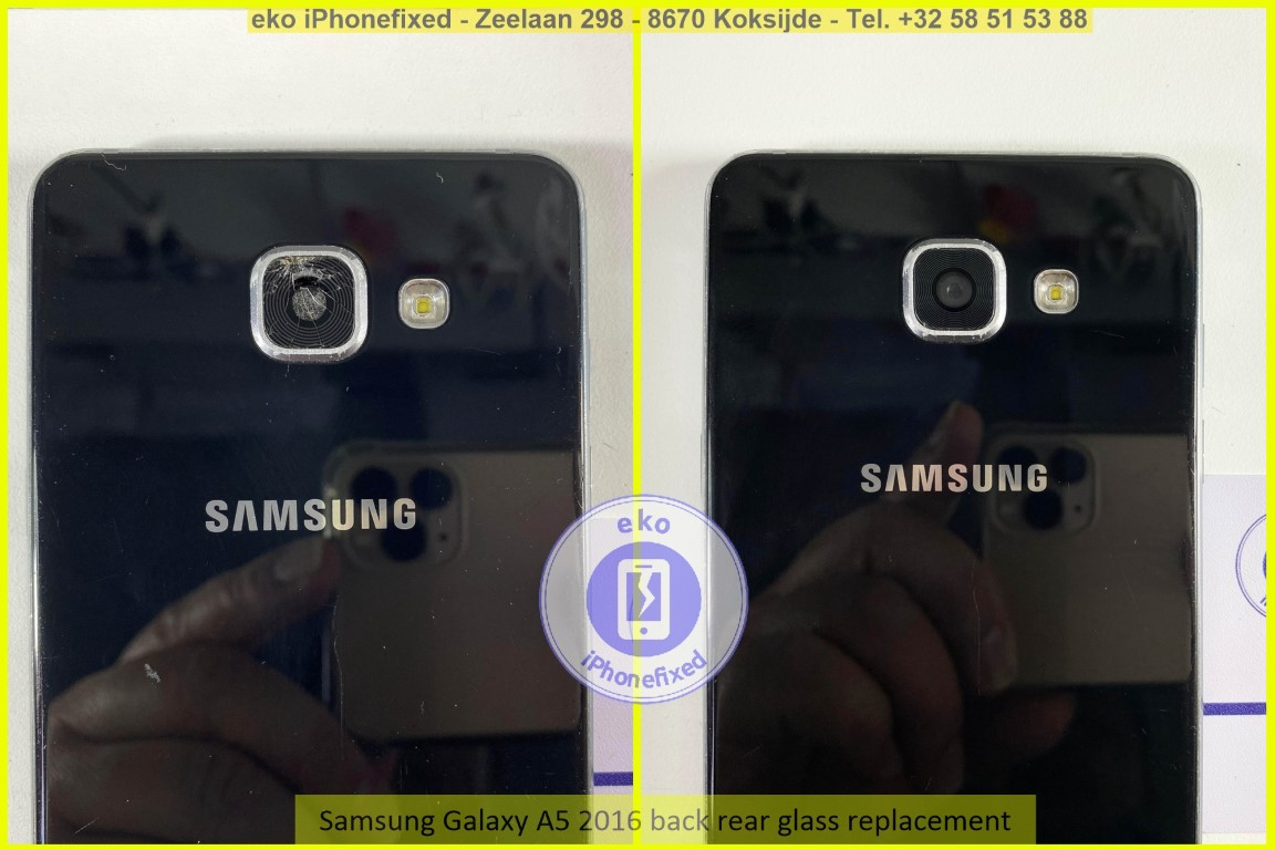 Samsung Galaxy A5 2016 achterkant glas camera vervanging eko iPhonefixed_1