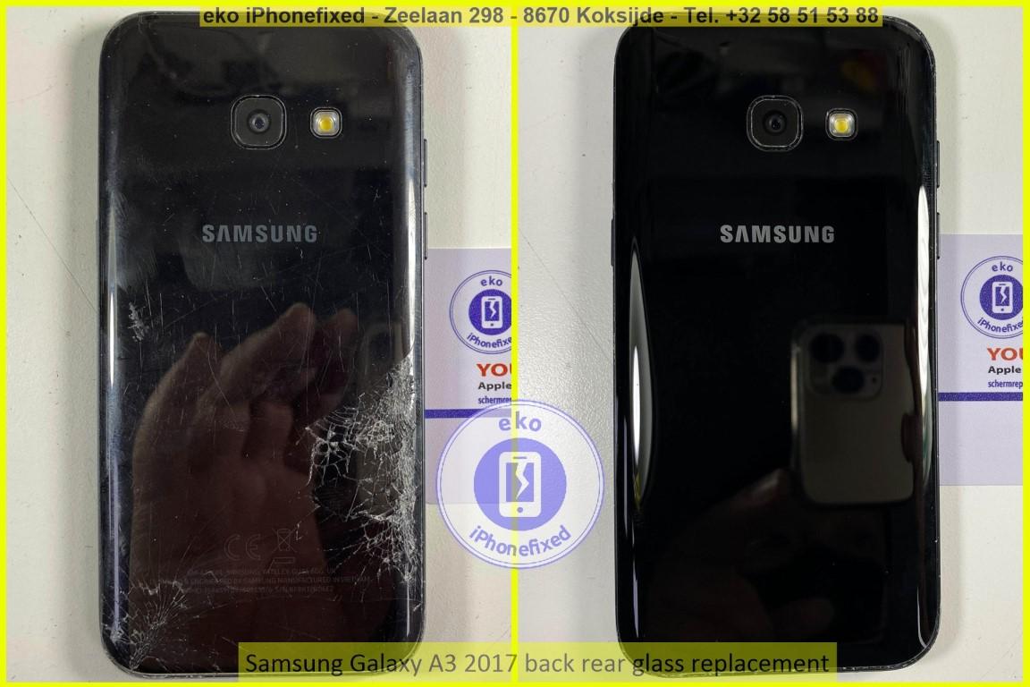 Samsung Galaxy a3 2017 achterkant glas vervanging eko iPhonefixed_1